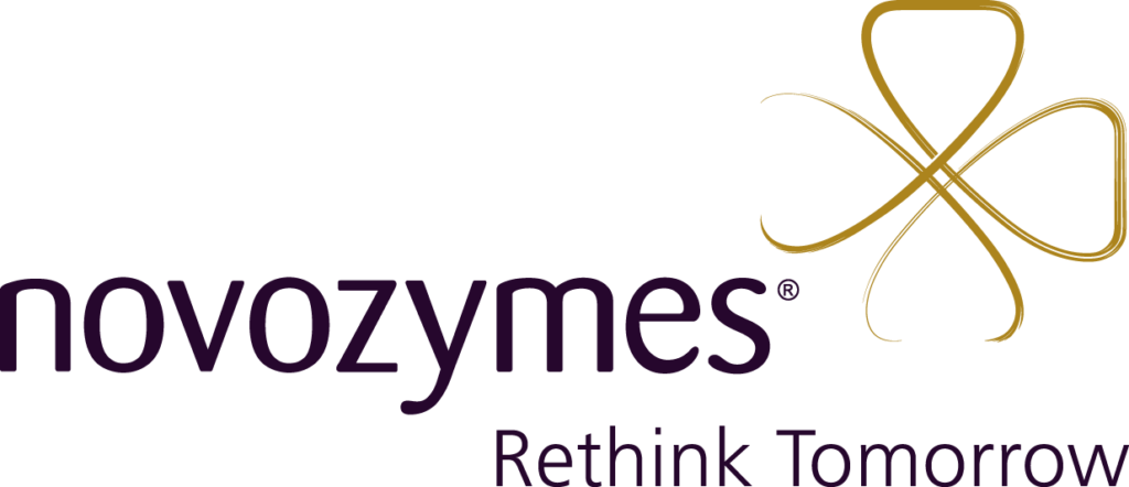 The logo of Novozymes