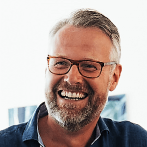 Portrait of CEO and Founder of TIPeople, Volker Jacobs