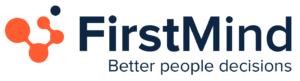 FirstMind logo and slogan better people decisions