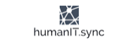 The logo of HumanIT Sync